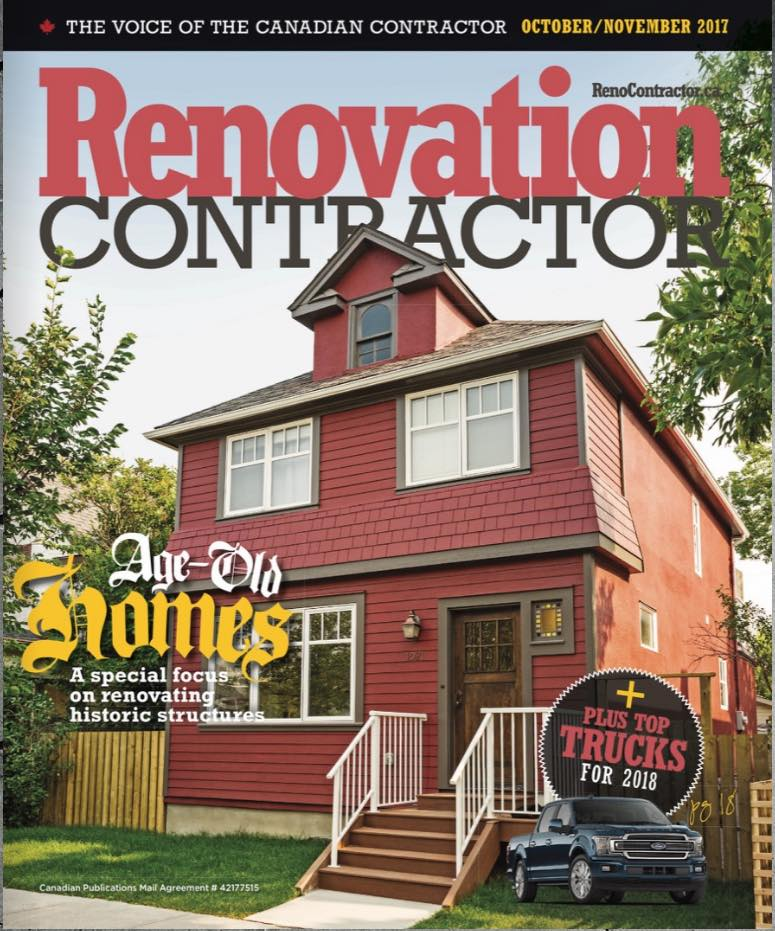Renovation Contractor Magazine - Dependable Renos