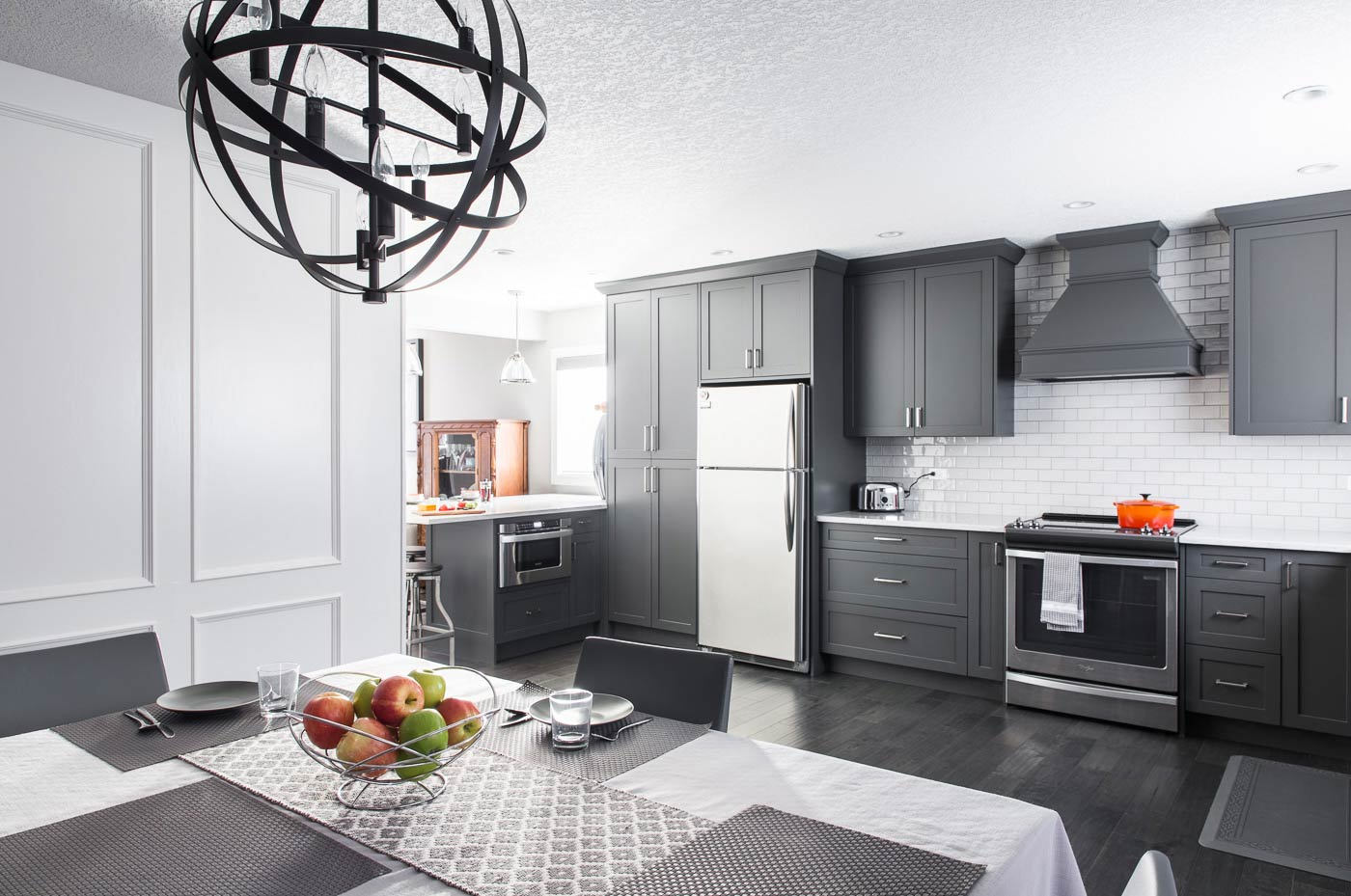 Dependable Renovations Calgary - Modern Kitchen Gray Tones